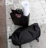 サンクリの荷物