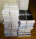 軽く100冊ほど処分