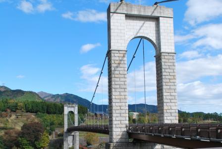 風の吊り橋