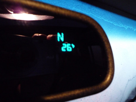 マイナス4℃