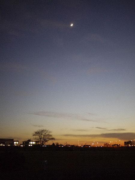20101210夕陽2