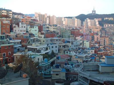 釜山の家屋