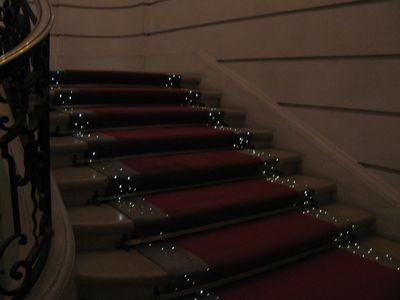 バカラ美術館階段