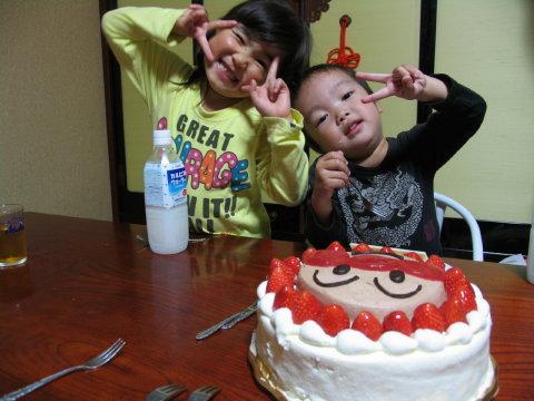 颯も3歳(^^)