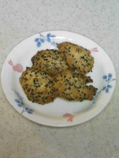黒ゴマクッキー