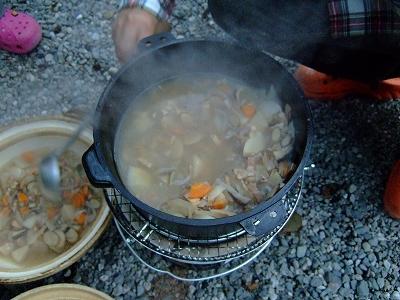 根菜の牛乳鍋