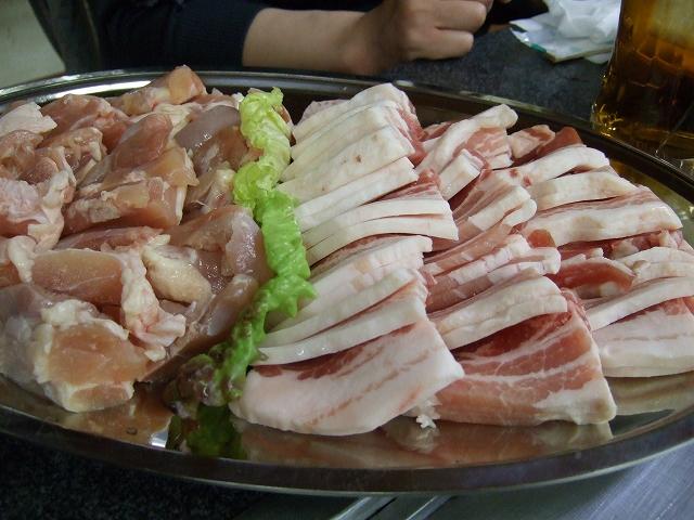 豚肉&鶏肉