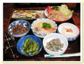 田吾作 お料理
