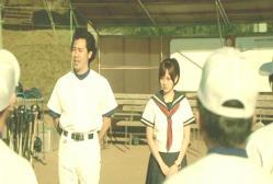 今日から野球部に入ることになった二年生の川島みなみちゃんだ