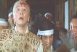 吉良に斬りつける浅野浅野内匠頭