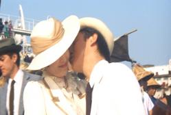まどかにキス