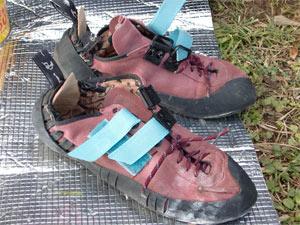S師匠が改良した靴