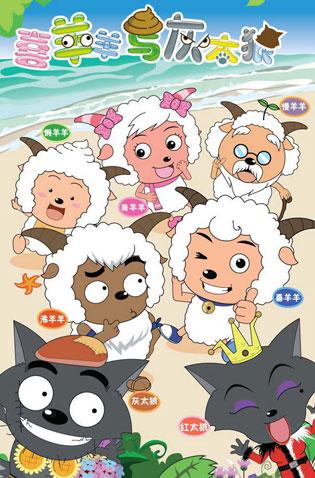 中国TVアニメ『喜羊羊与灰太狼』