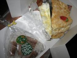 ちたらべのケーキと生キャラメル