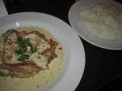 1月のランチセミナー 鶏肉の粒マスタードソース