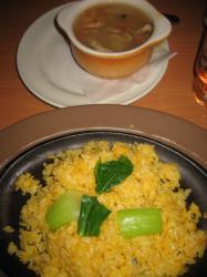 八宝菜のあんかけ卵チャーハン