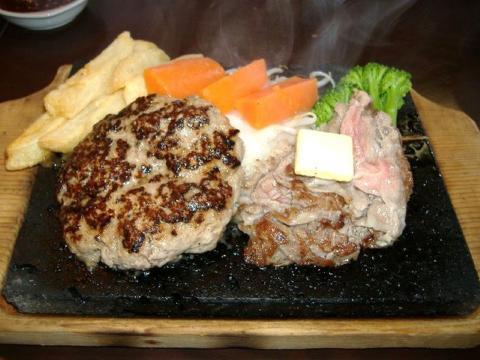 大阪屋・H21・7 焼肉とハンバーグ