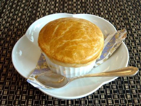 銘石亭・舞茸のパイスープ