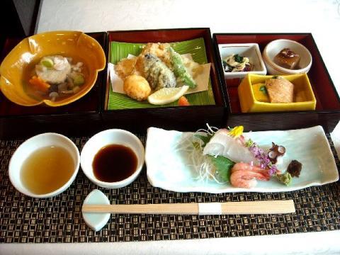 銘石亭・料理3