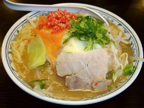 きんしゃい亭県央店・H22・3 豚骨野菜味噌ラーメン