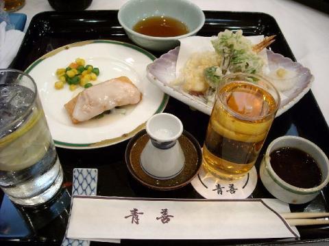 青善・H22・5 料理
