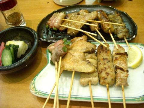 日本海庄や長岡店・H22・5 焼き鳥