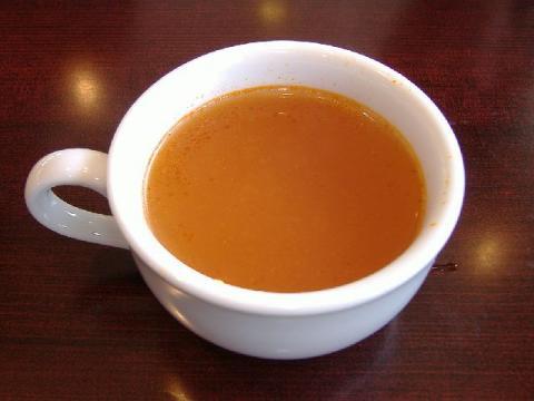 ステーキ宮燕三条店・H22・4 トマトスープ