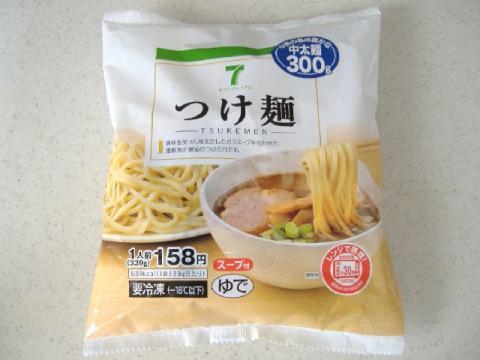 セブンイレブン・H22・7 つけ麺1