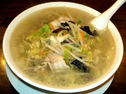中華美食館三条店・H22・5 肉野菜ラーメン