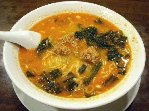中華美食館三条店・H22・9 坦々麺