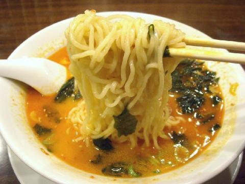 中華美食館三条店・H22・9 坦々麺麺