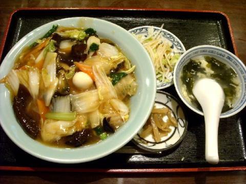 中華美食館三条店・H22・9 中華丼