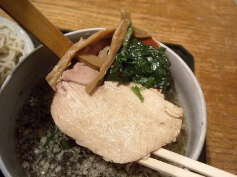 どっぽ本町店・H22・10 つけ麺 具