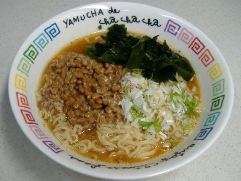 納豆ラーメン・味噌