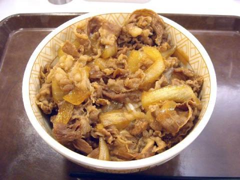 すき家・H22・12 牛丼