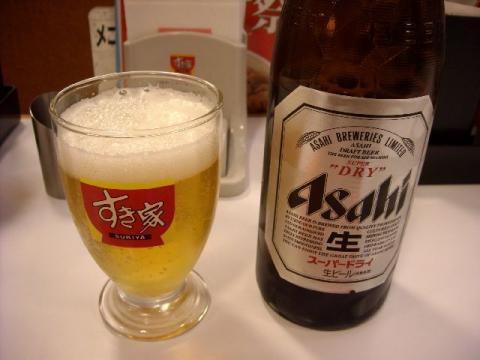 すき家・H22・12 ビール