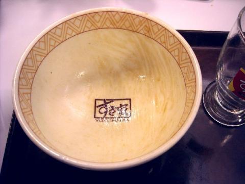 すき家・H22・12 牛丼 丼