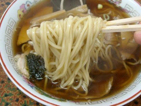 大黒亭本店・H22・11 中華そば 麺