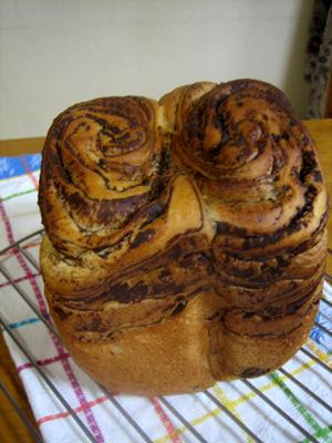 ミルクチョコマーブル食パン