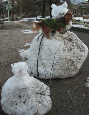 画像 002雪だるま