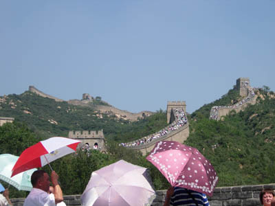 中国ビジネス/万里の長城