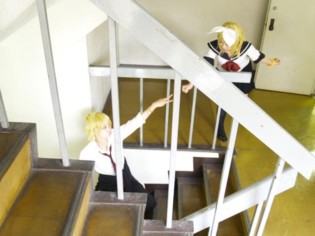 SPICE! 階段でグリコw