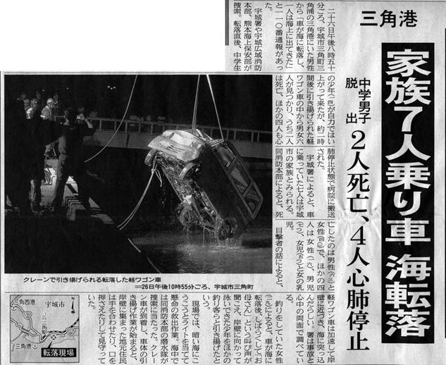 熊日2008年05月27日朝刊1面