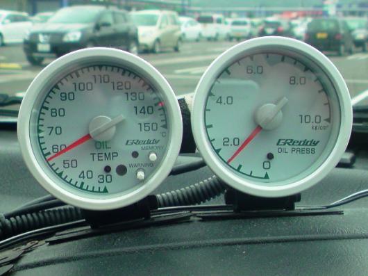 油圧、油温計(2)