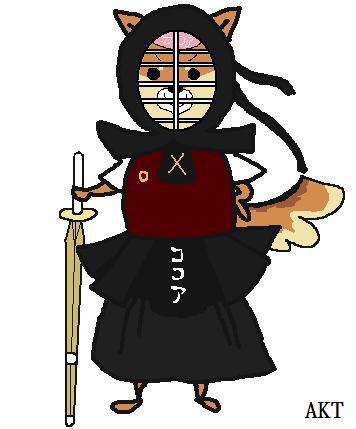 女剣士ココア