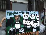 おっさんがパンダ