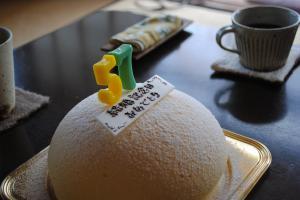 結婚記念日ケーキ