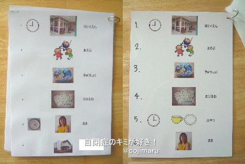 視覚支援、写真カード - 自閉症 ...