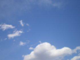 青空の雲1