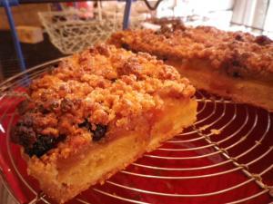 tarte aux pommes peysannes